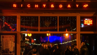 Night and Day bar, Manchester